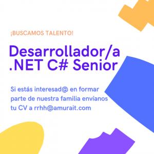 Desarrollador/a .NET